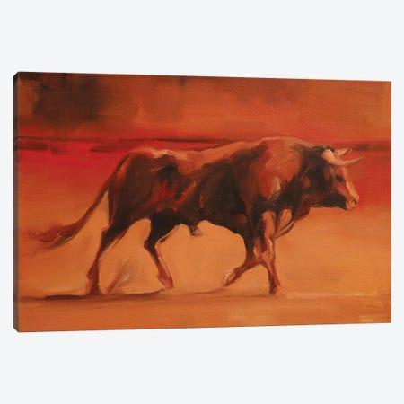 Colour Run Canvas Print #ZHO57} by Zil Hoque Canvas Artwork