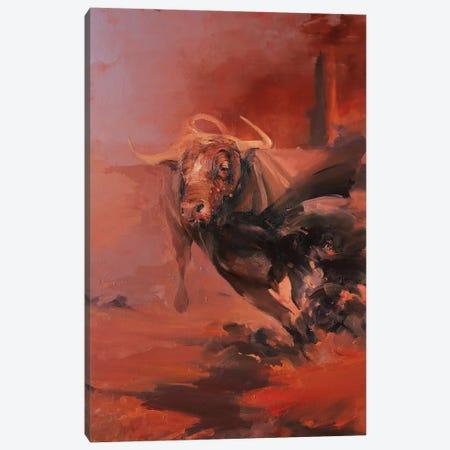 Corrida I   Canvas Print #ZHO58} by Zil Hoque Canvas Art Print