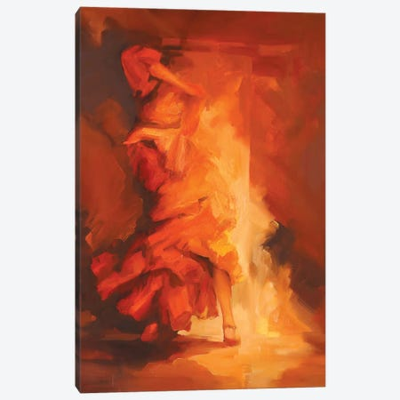 Evolution I   Canvas Print #ZHO61} by Zil Hoque Canvas Wall Art