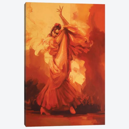 Evolution III   Canvas Print #ZHO63} by Zil Hoque Canvas Wall Art