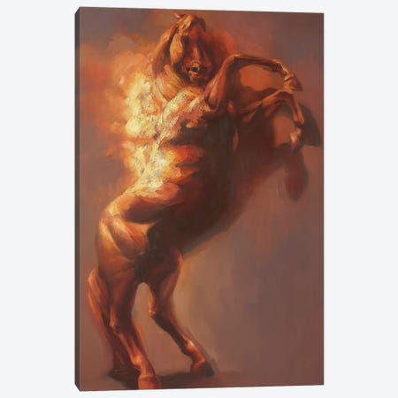 Fulcrum I   Canvas Print #ZHO67} by Zil Hoque Canvas Print