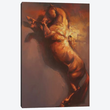 Fulcrum III   Canvas Print #ZHO69} by Zil Hoque Canvas Artwork