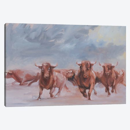 Lidians I Canvas Print #ZHO75} by Zil Hoque Canvas Art