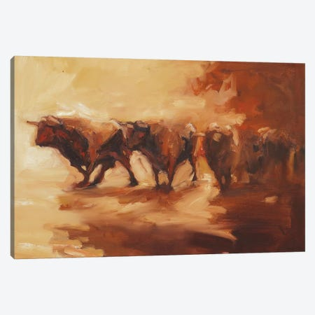 Lidians II Canvas Print #ZHO76} by Zil Hoque Canvas Art