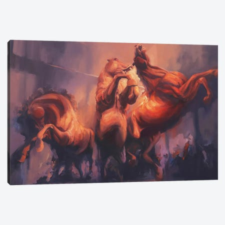 Nightmares   Canvas Print #ZHO78} by Zil Hoque Canvas Print