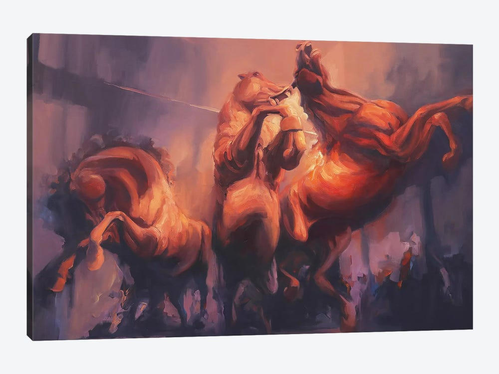 Nightmares   by Zil Hoque 1-piece Canvas Wall Art