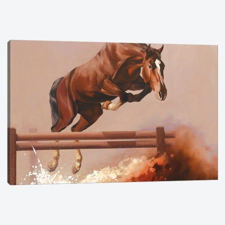 Splash I  Canvas Print #ZHO83} by Zil Hoque Canvas Wall Art
