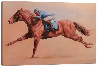 Primary Blue Canvas Art Print