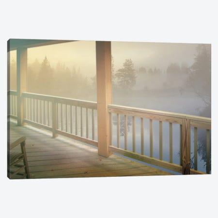 Resting Wood Canvas Print #ZIK15} by Steve Hunziker Art Print
