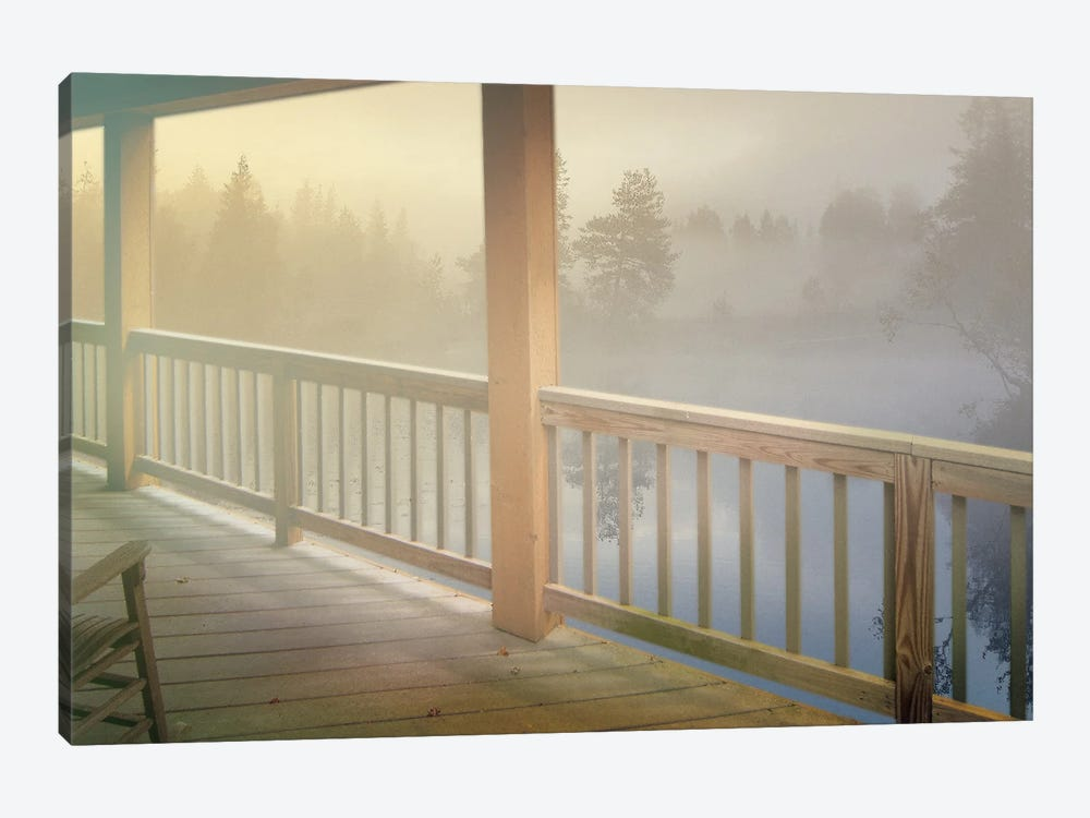 Resting Wood by Steve Hunziker 1-piece Canvas Art