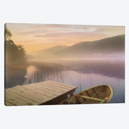 Resting Wood II Canvas Print #ZIK16} by Steve Hunziker Canvas Print