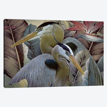 Two to Tango Canvas Print #ZIK5} by Steve Hunziker Art Print