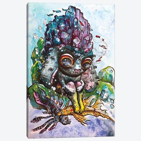 Crystal Bunny Canvas Print #ZKN14} by Zoya Koinash Canvas Print