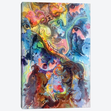 Case In Metro Canvas Print #ZKN16} by Zoya Koinash Canvas Print
