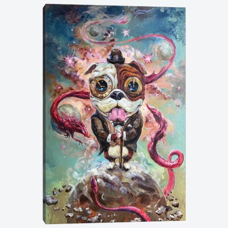 Guardian Dog Canvas Print #ZKN1} by Zoya Koinash Canvas Print