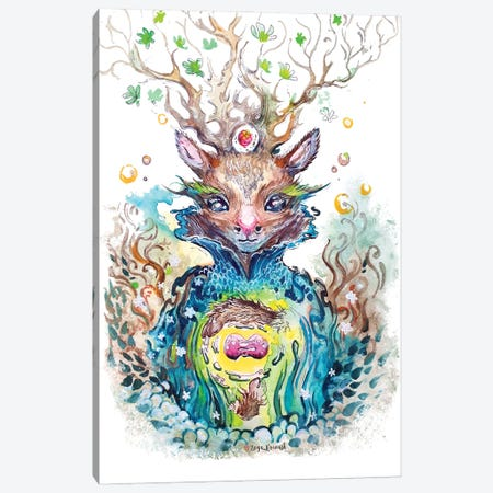 Nuclear Dear Canvas Print #ZKN20} by Zoya Koinash Canvas Art Print