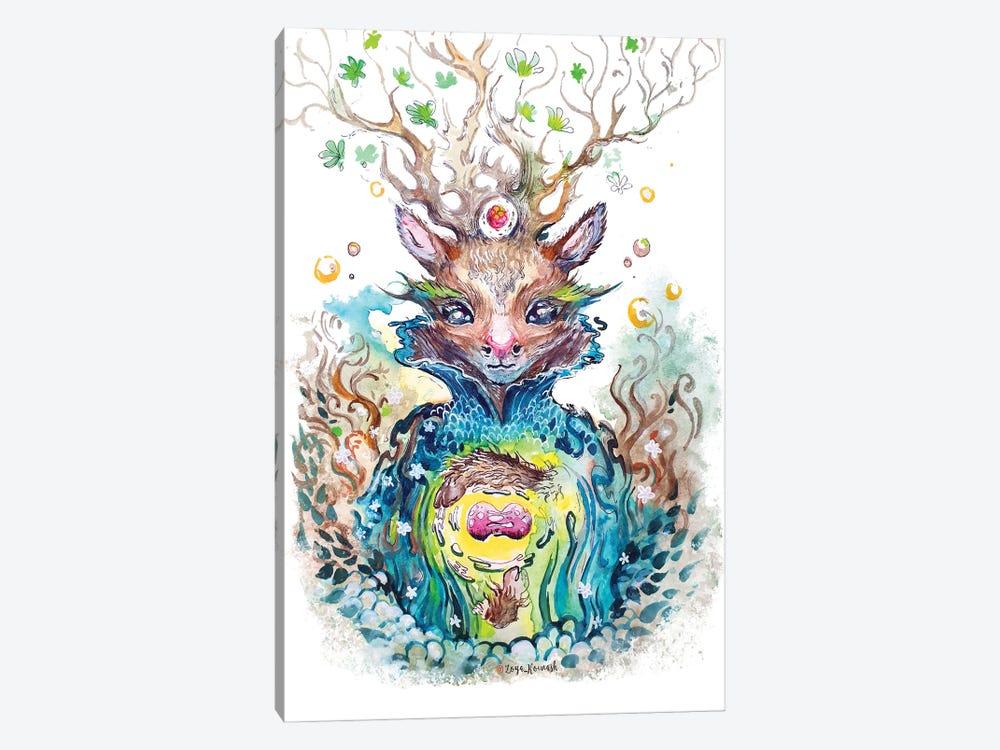 Nuclear Dear by Zoya Koinash 1-piece Canvas Artwork
