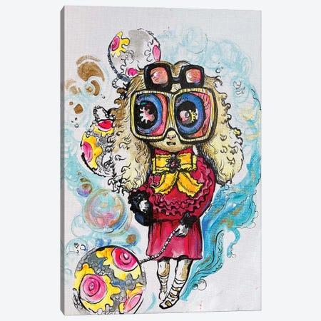 Tamed Happiness Canvas Print #ZKN25} by Zoya Koinash Canvas Wall Art