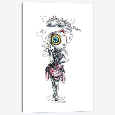 Hypnodancer Canvas Print #ZKN2} by Zoya Koinash Art Print