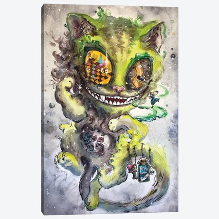 Cheshire Cat Canvas Print #ZKN6} by Zoya Koinash Canvas Wall Art