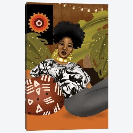 Ms Anika Canvas Print #ZLA14} by Zola Arts Canvas Art Print