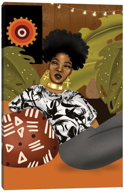 Ms Anika Canvas Art Print