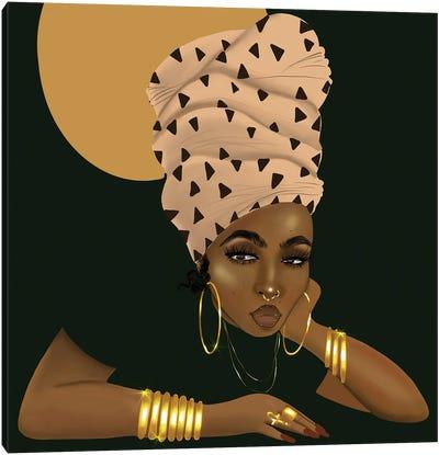 LaShonda and the Headwrap Canvas Art Print