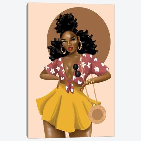Shaneice Golden Canvas Print #ZLA18} by Zola Arts Canvas Art