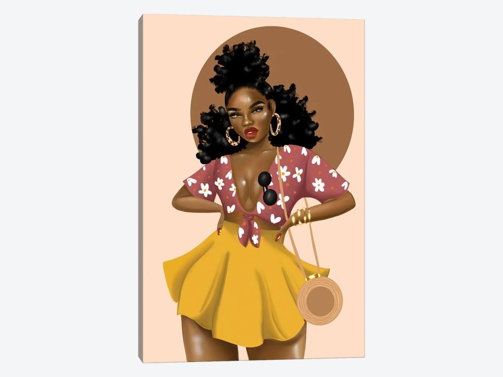 Shaneice Golden by Zola Arts 1-piece Art Print