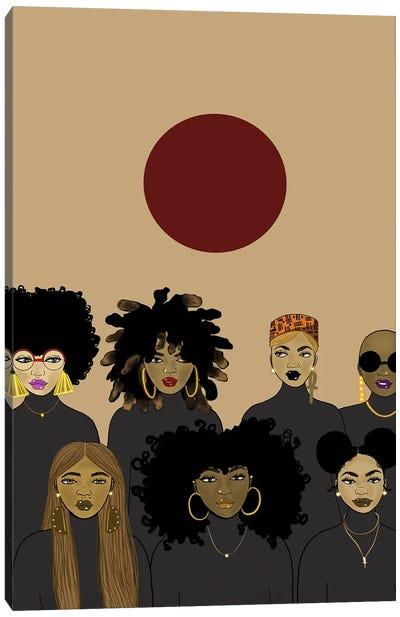 Le' Sisterhood Canvas Art Print