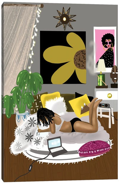 Sunday Morning Chill Canvas Art Print