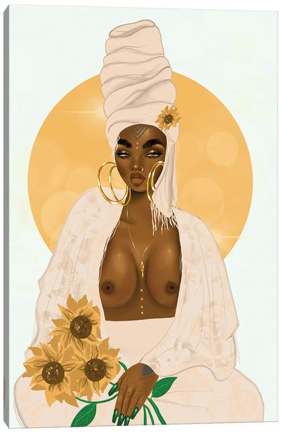 Sun Canvas Art Print