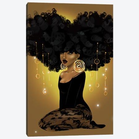 Honey Beams and Golden Dreams Canvas Print #ZLA33} by Zola Arts Canvas Art