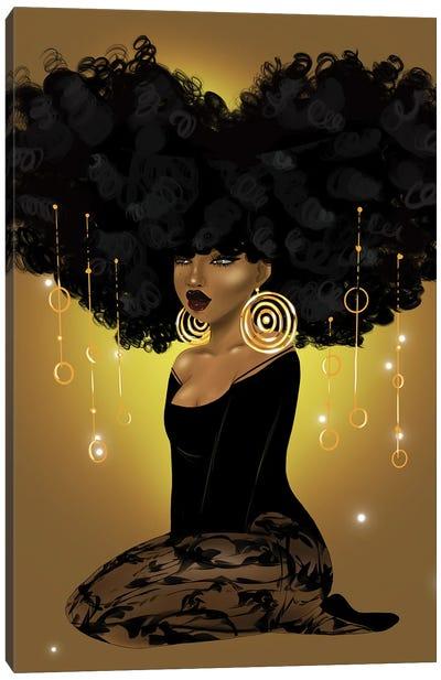 Honey Beams and Golden Dreams Canvas Art Print