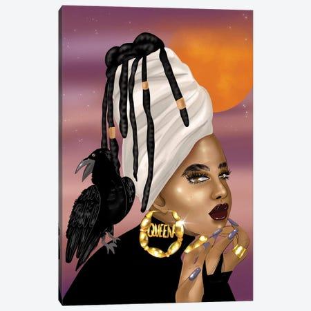 Queen Raven Canvas Print #ZLA36} by Zola Arts Canvas Art Print