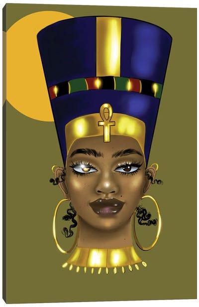Brianna Nefertiti Canvas Art Print