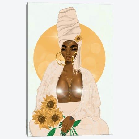 Sun (Censored) Canvas Print #ZLA42} by Zola Arts Art Print