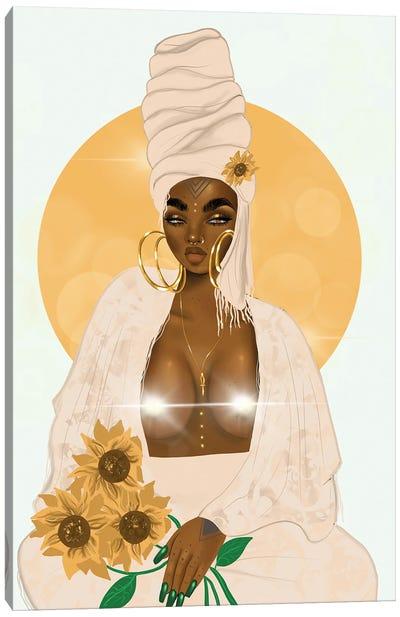 Sun (Censored) Canvas Art Print