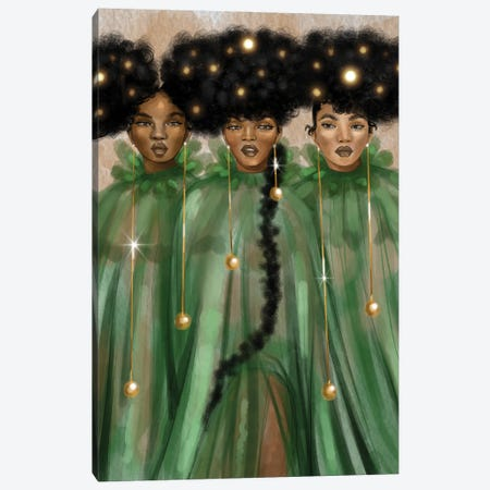 The Singers Canvas Print #ZLA50} by Zola Arts Canvas Artwork