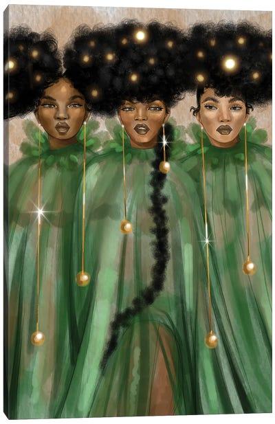 The Singers Canvas Art Print