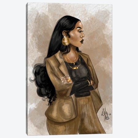 Toni Canvas Print #ZLA51} by Zola Arts Canvas Artwork