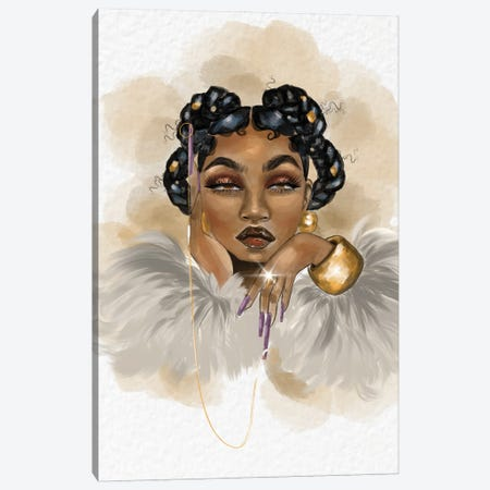 Mrs. Diamond Strickland Canvas Print #ZLA52} by Zola Arts Canvas Wall Art