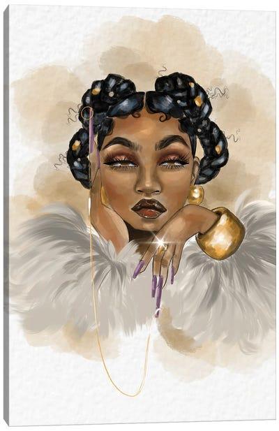 Mrs. Diamond Strickland Canvas Art Print