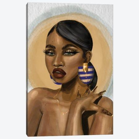 Nadia Canvas Print #ZLA53} by Zola Arts Canvas Wall Art