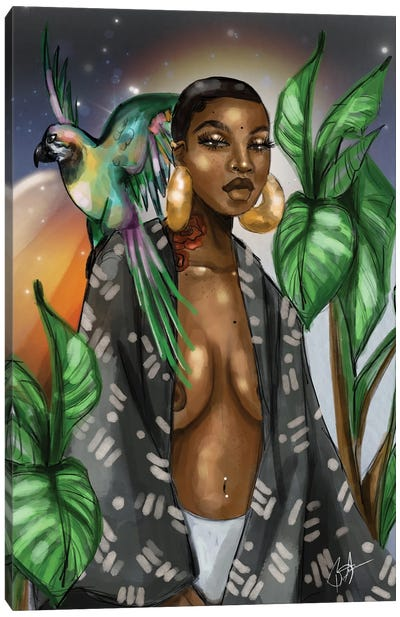 Bernadette Cosmos Canvas Art Print