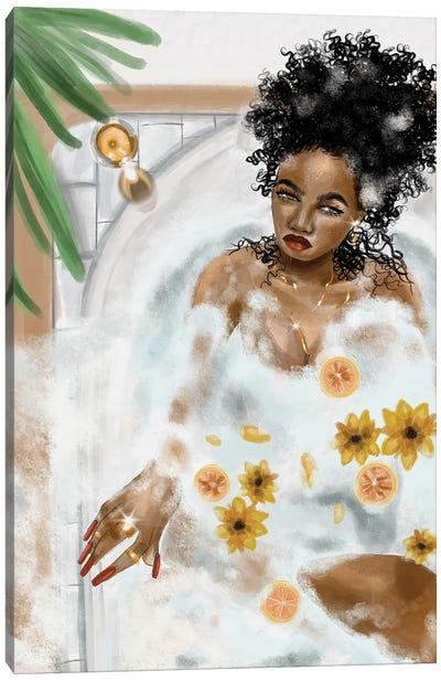 Bubble House Canvas Art Print
