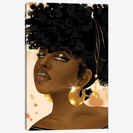 Khadijah Dont Need ya! Canvas Print #ZLA7} by Zola Arts Canvas Artwork