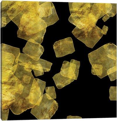 Golden Abstraction Geometric I Canvas Art Print