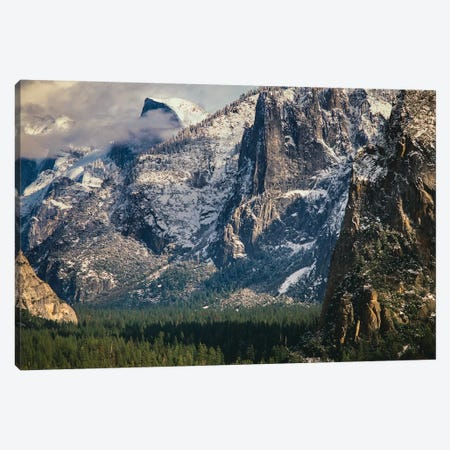 Half Dome And Valley, Yosemite National Park, California Canvas Print #ZMB11} by Zandria Muench Beraldo Canvas Artwork
