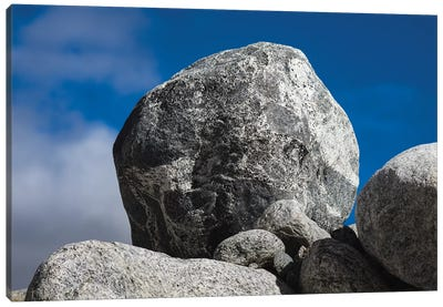 Hornblende Granite Rocks, California. Canvas Art Print
